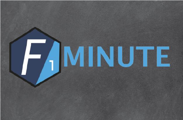 F1 Minute