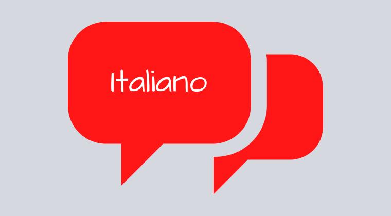 Italian Intermediate Conversation - OCTOBER 2021 - Friday