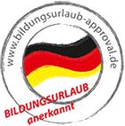 Bildungsurlaub – Recognised by all German Federal States for Bildungsurlaub training leave.