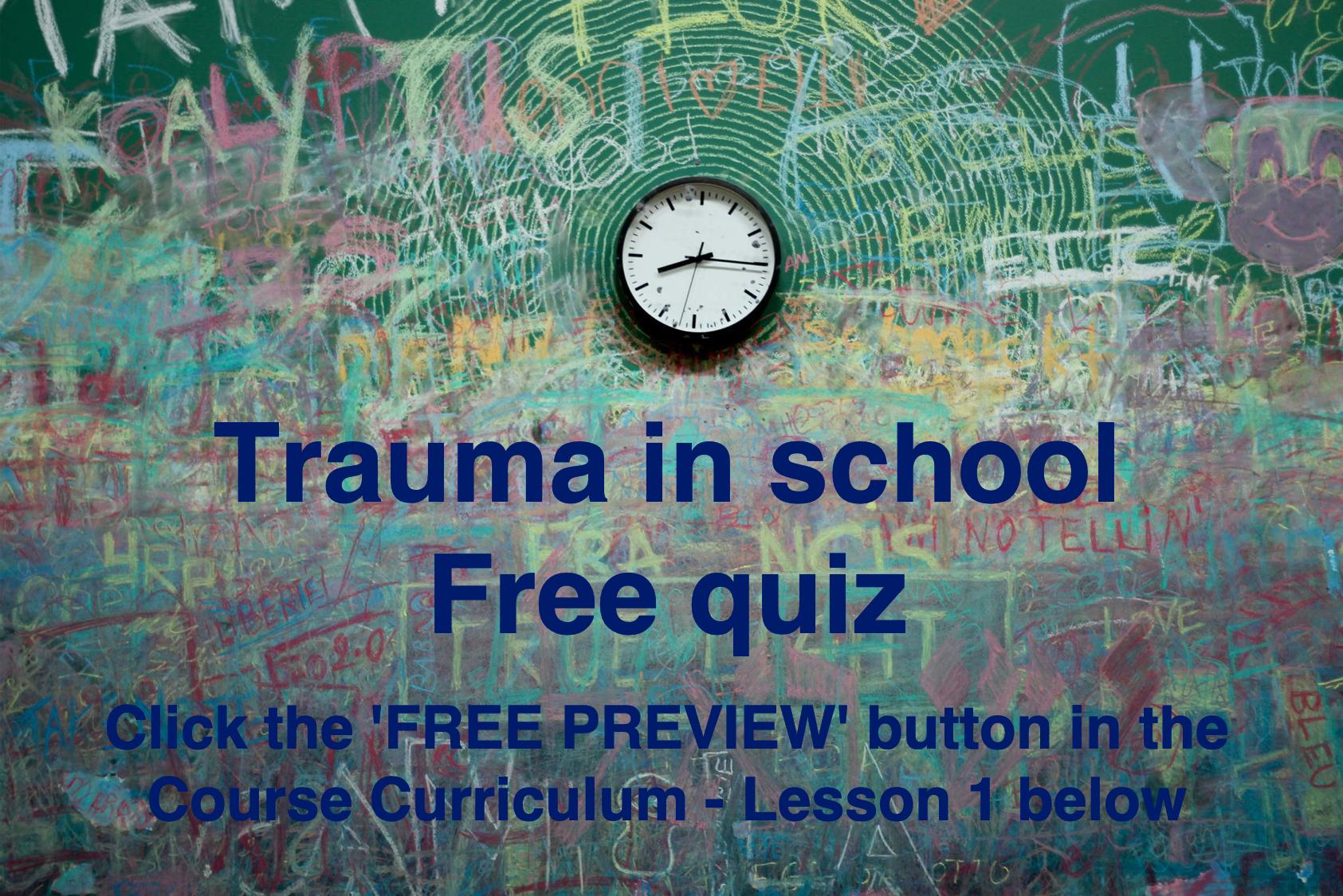 Free trial - Quiz