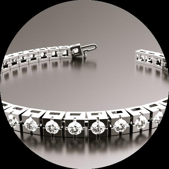 Linking & Locking in bracelets