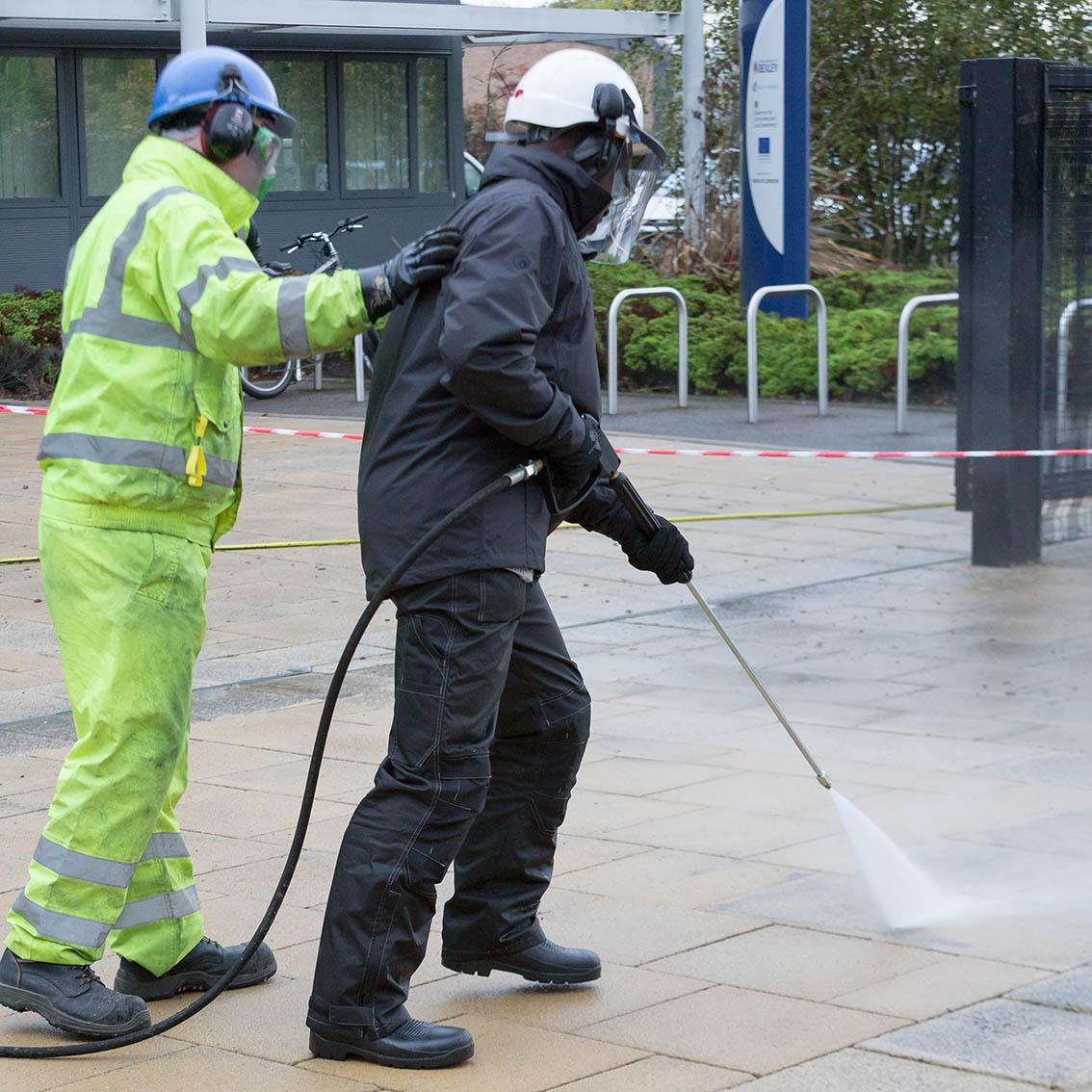 WJA water jetting safety training