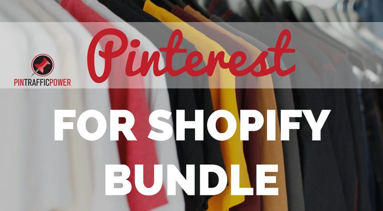 Pinterest For Shopify Bundle