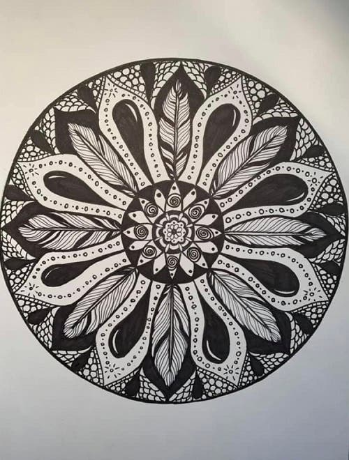 by Sarah Brown, Occupational Therapist and Artist