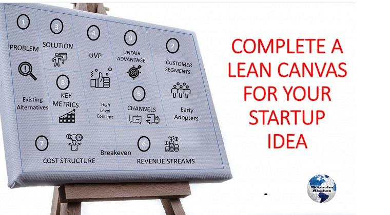 Complete Your Lean Canvas