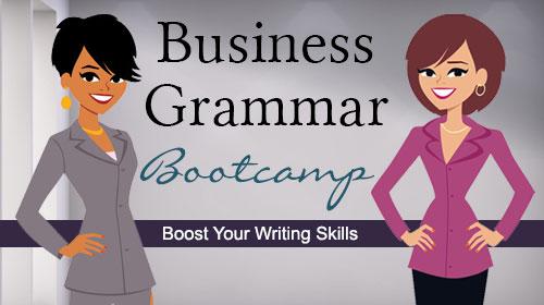 business grammar essentials online course