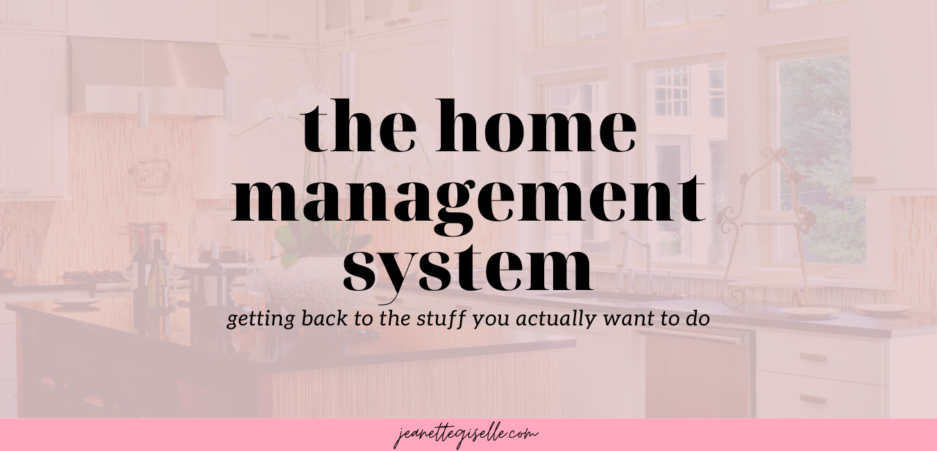 The Home Management System