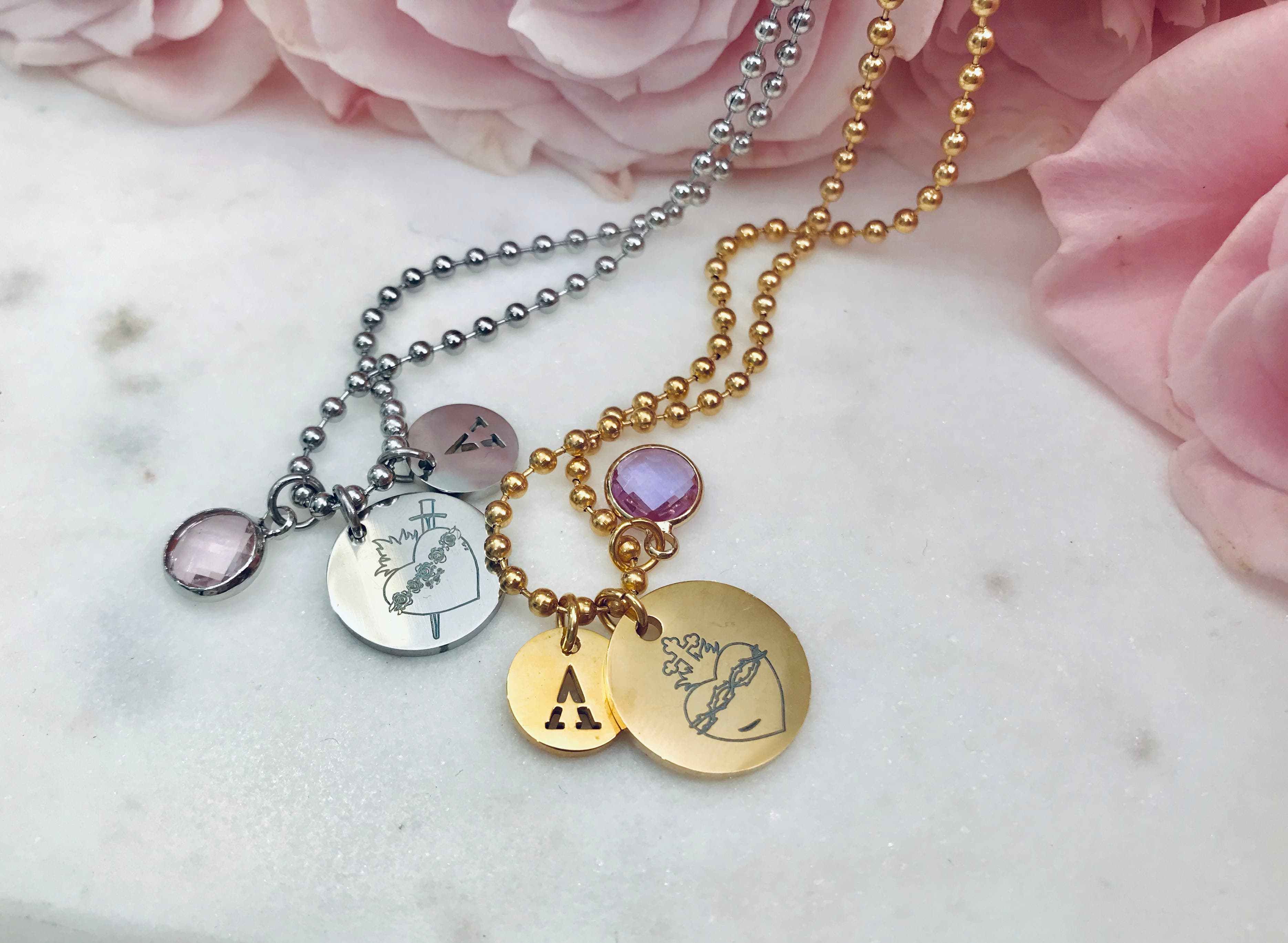 Personalized Necklaces! Choose your favorite pieces and make it  your own