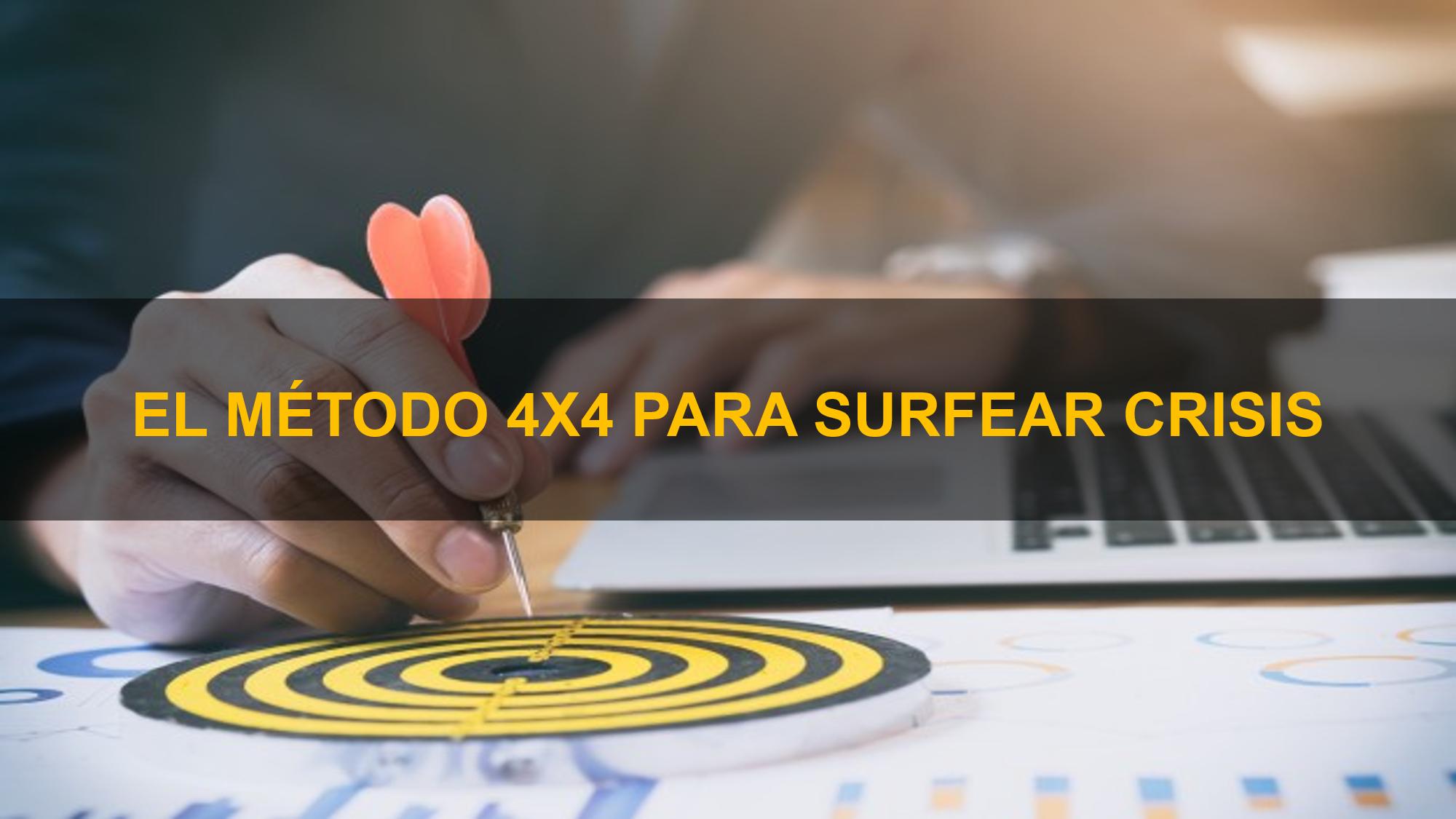 Conoce el Método 4x4 para Surfear Crisis