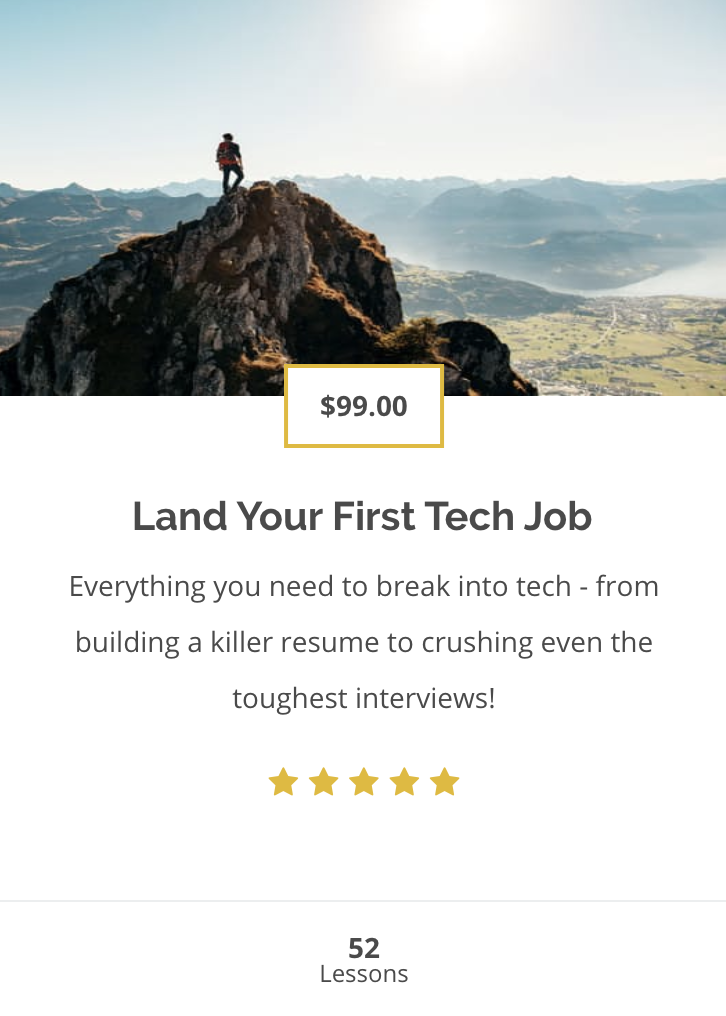 I Know My Dream Job - Now I Just Need to Go Out and Get It