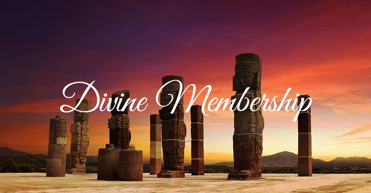 DIVINE MEMBERSHIP INCLUDES