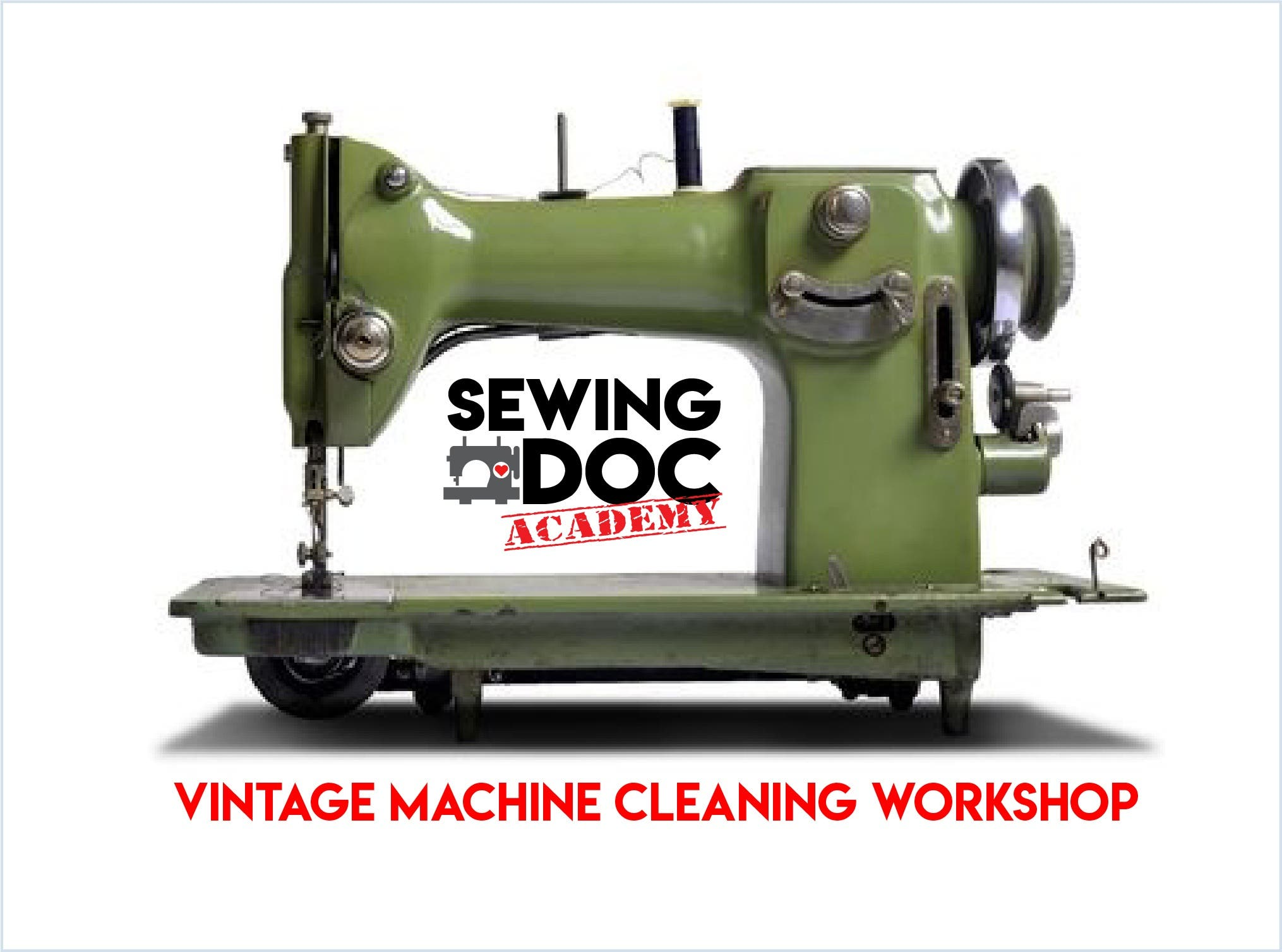 Vintage Machine CLEANING Workshop