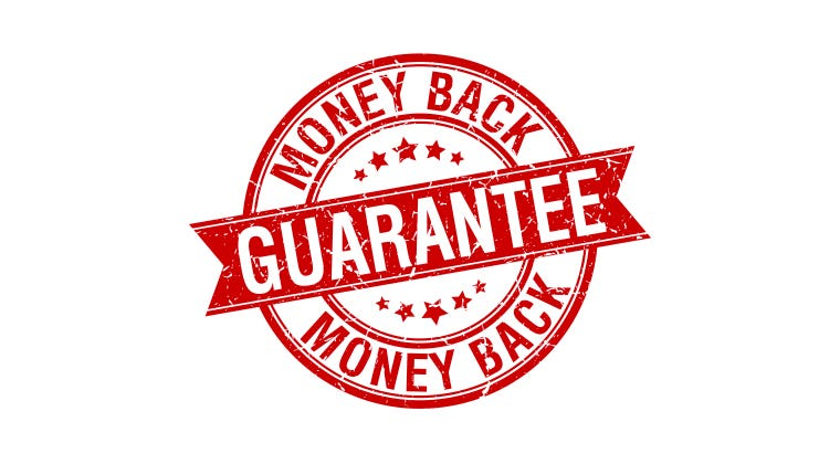 Money Back Guarantee!