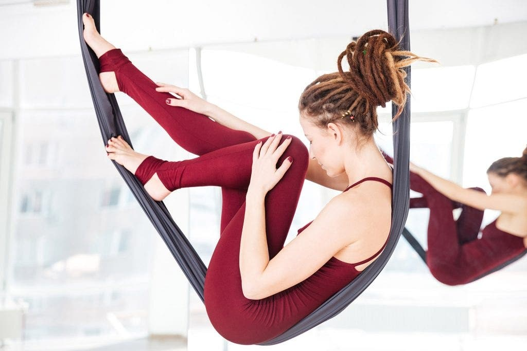 250hr Aerial Yoga Teacher Training Certification-  Registered & Alliance Approved. In French