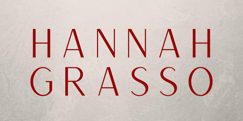 Hannah Grasso