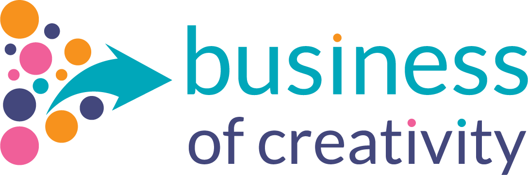 Logo for business of creativity