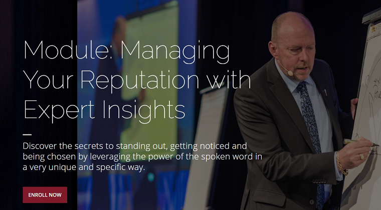 Module 19 - Managing Your Reputation with Expert Insights