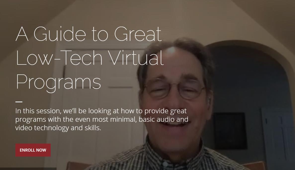 CAPS Tech-Academy - A Guide to Great Low-Tech Virtual Programs
