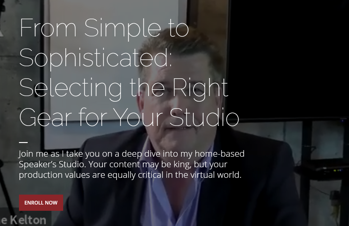 CAPS Tech-Academy - From Simple to Sophisticated: Selecting the Right Gear for Your Studio