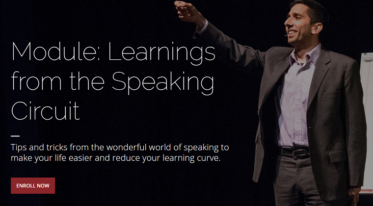 Module 18 - Learnings from the Speaking Circuit