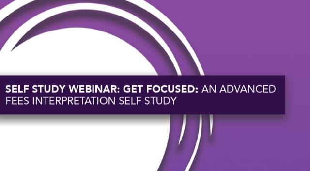 Get Focused: An Advanced FEES Interpretation Self Study
