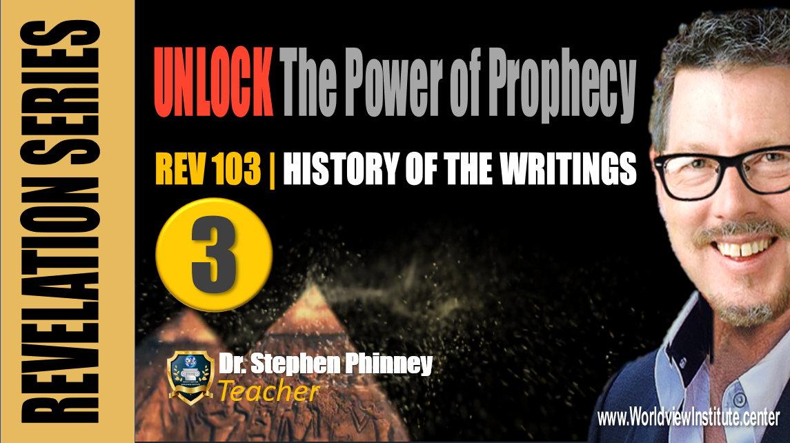 REV 103 | History, The Writings