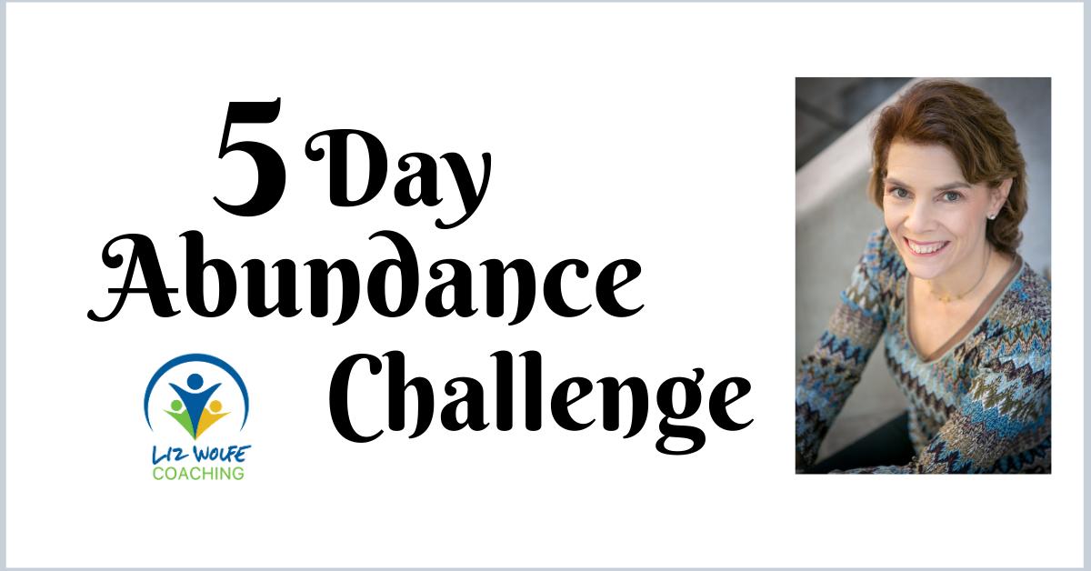 5-Day Abundance Challenge for Entrepreneurs