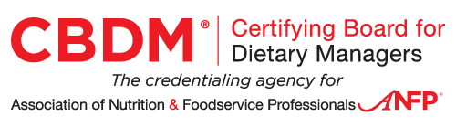 certifying board for dietary managers