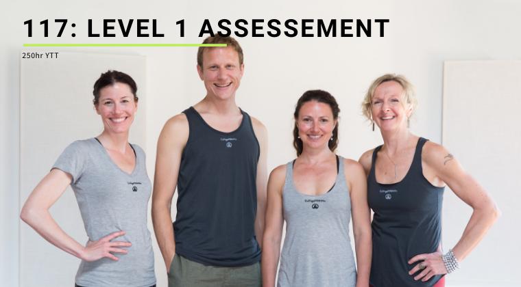 117: Level 1 Assessment