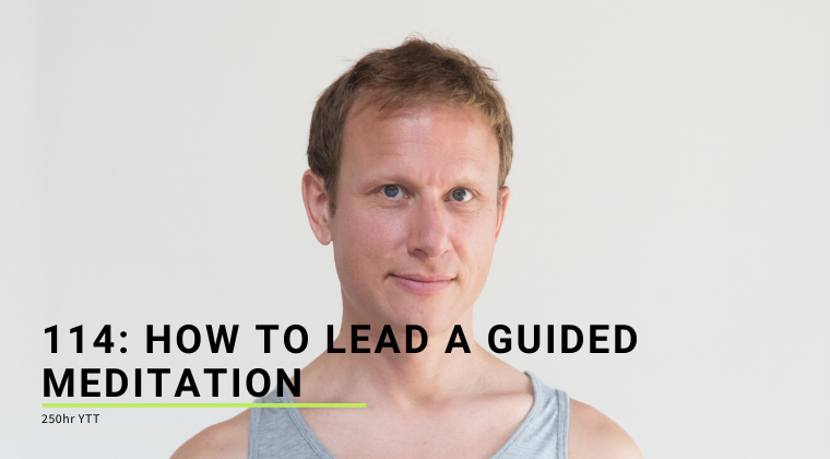 114: How To Lead a Guided Meditation