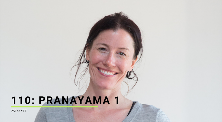 110: Pranayama 1