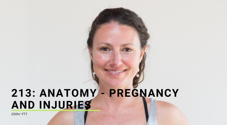 213: Introduction to Injuries & Pregnancy