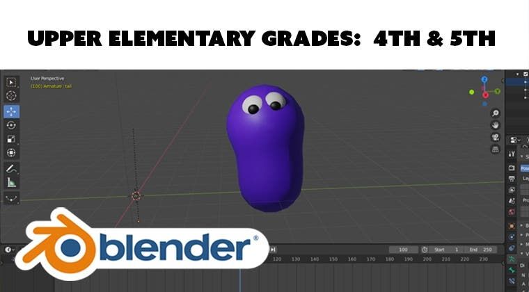 3D Create and Animate with Blender