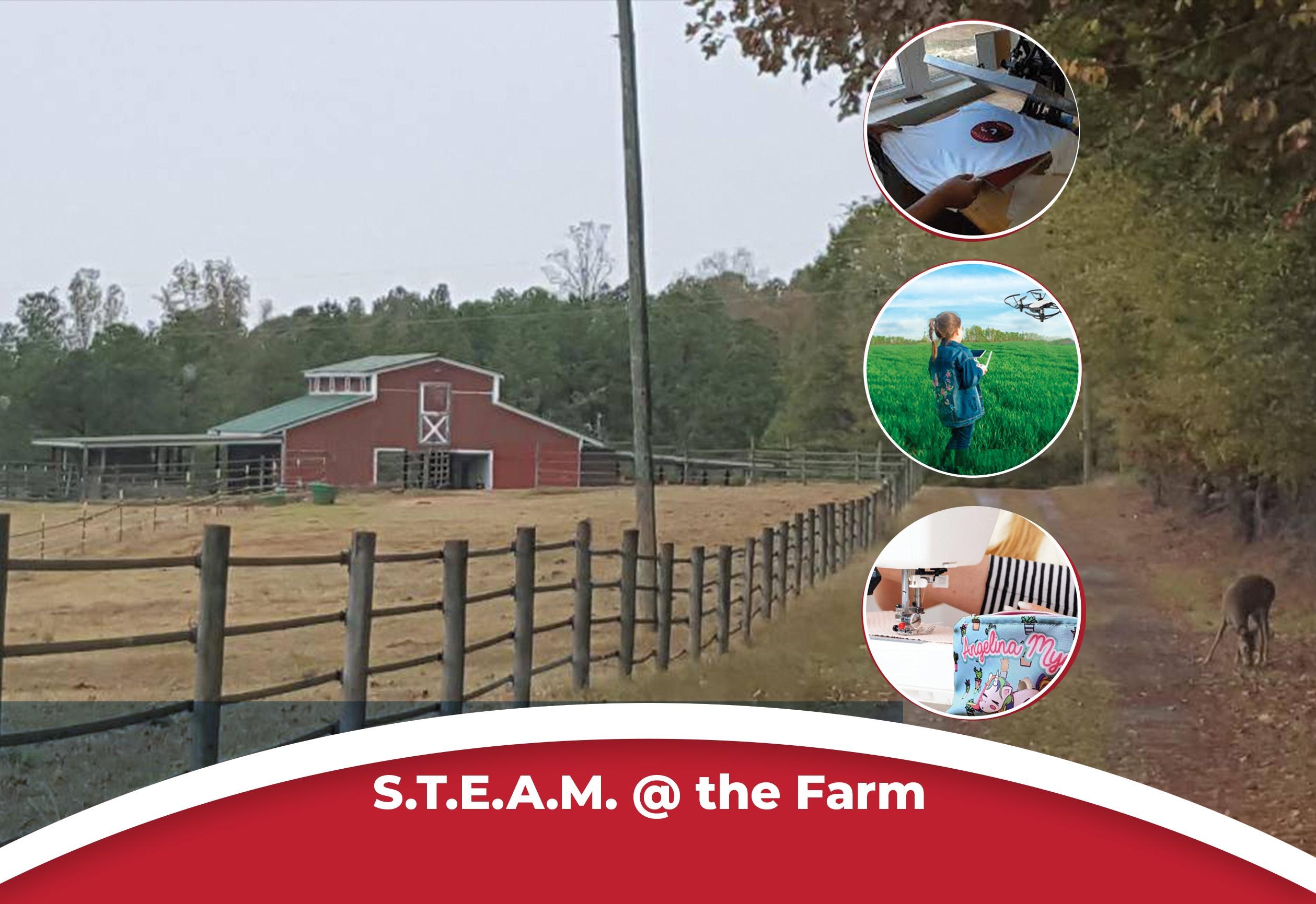 S.T.E.A.M @ the Farm