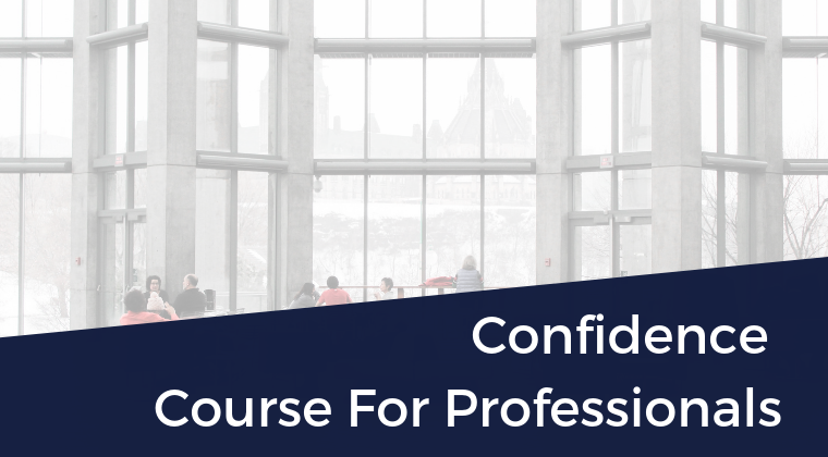 Confidence Strategies For Professionals
