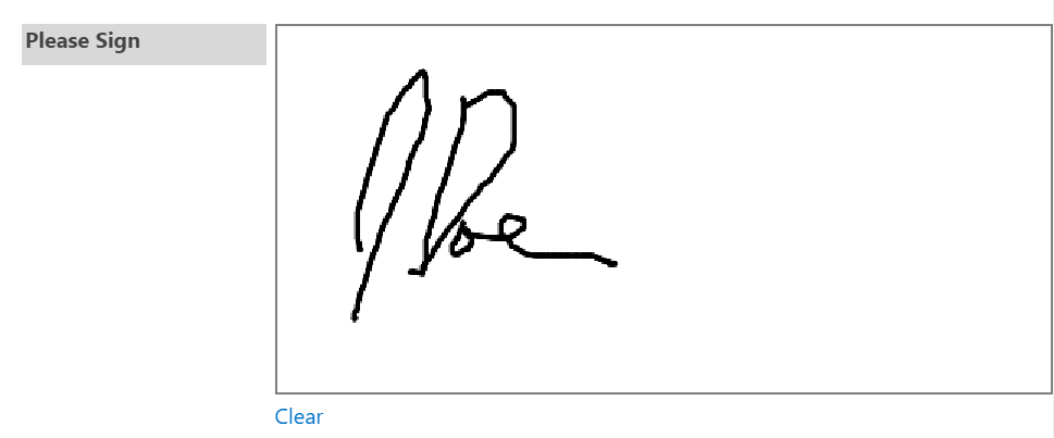 Electronic Signature Control