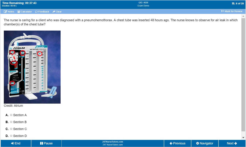 Our QBank Software mimics the real NCLEX