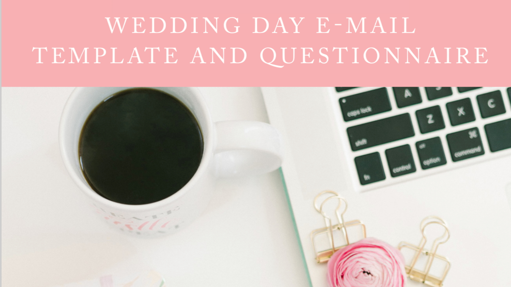 Questionnaire for Your Brides + Grooms