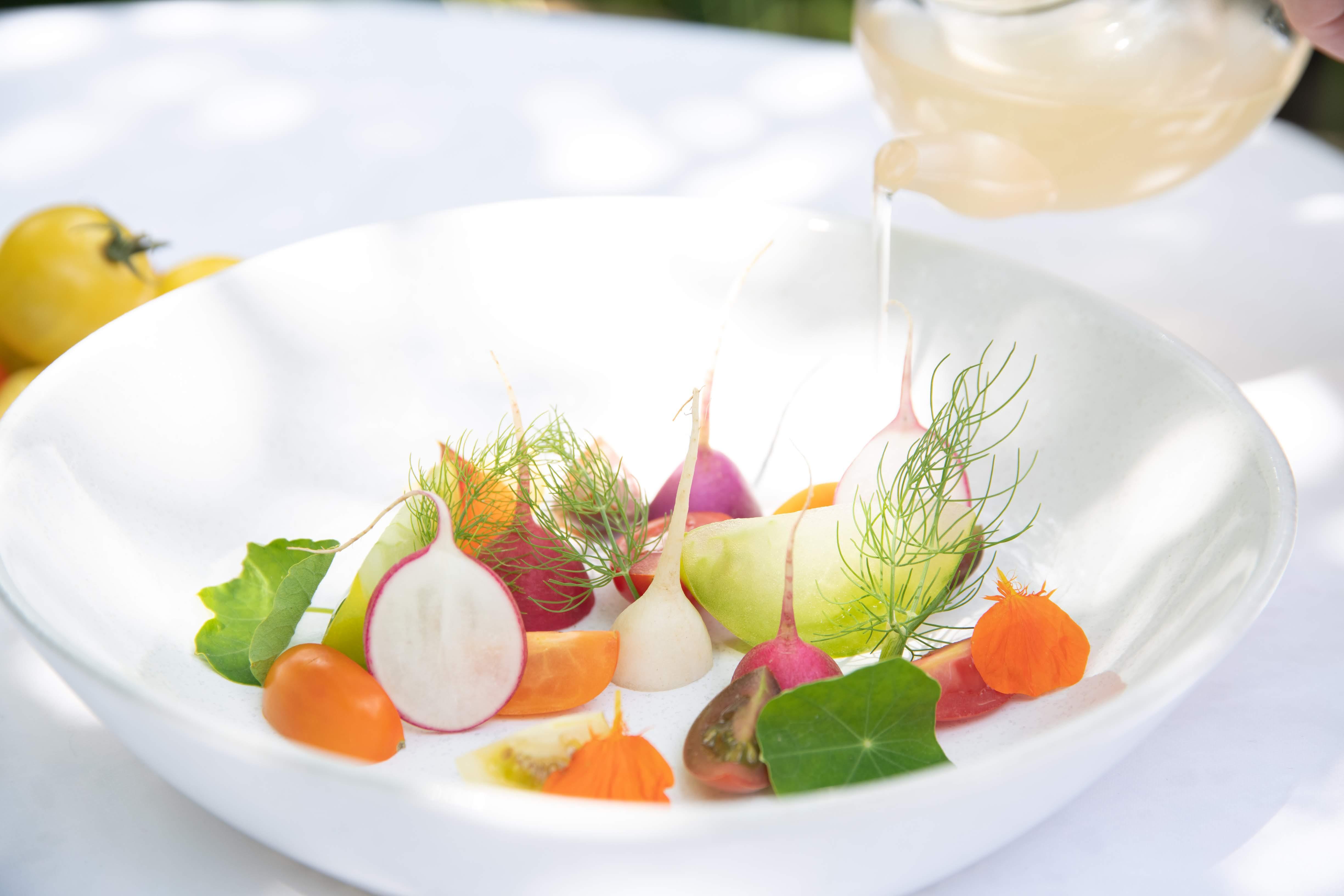 Deliciously Raw Salad Bowl