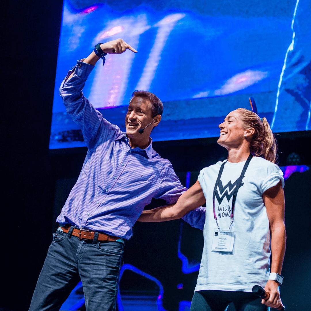 Tony Robbins with David Meerman Scott