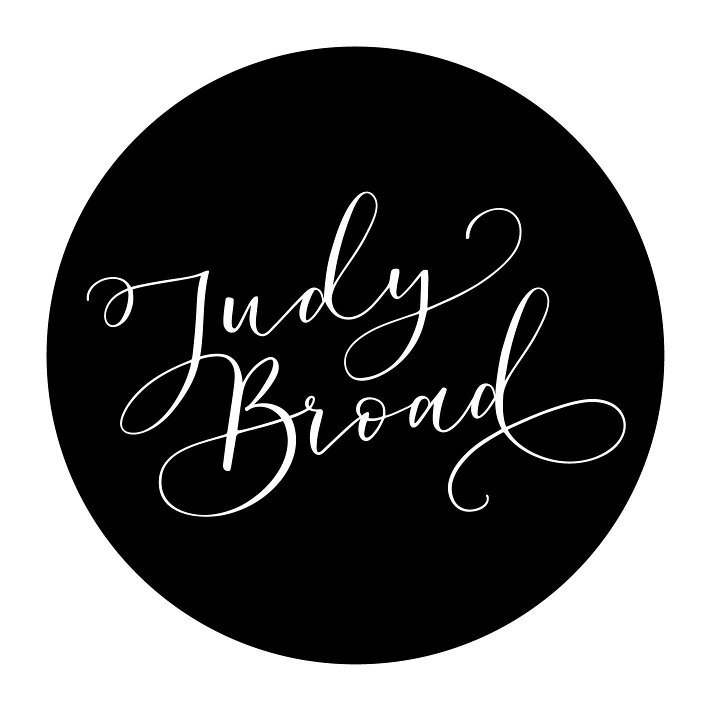 Judy Broad Calligraphy Logo