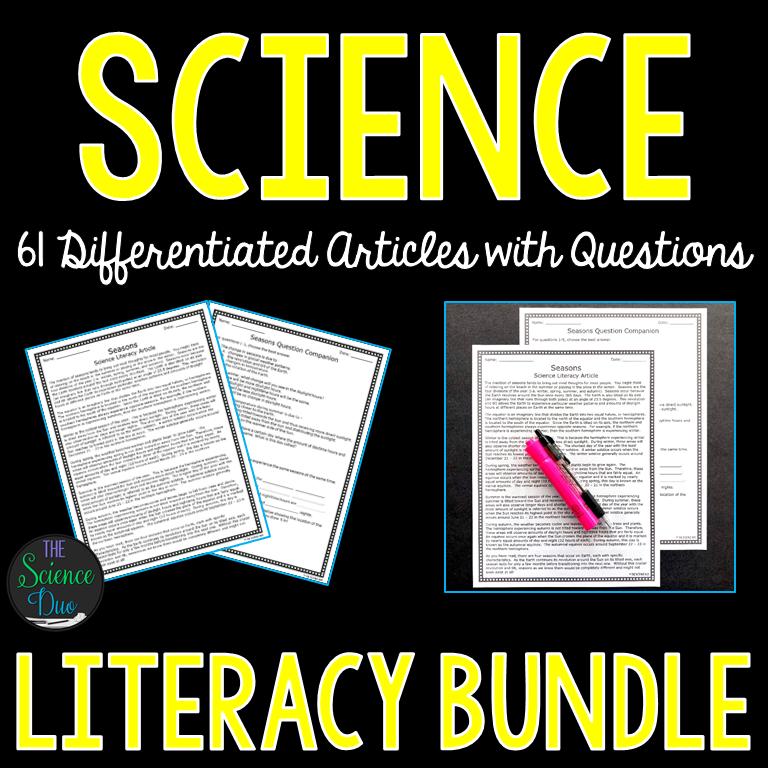 Science Literacy Bundle