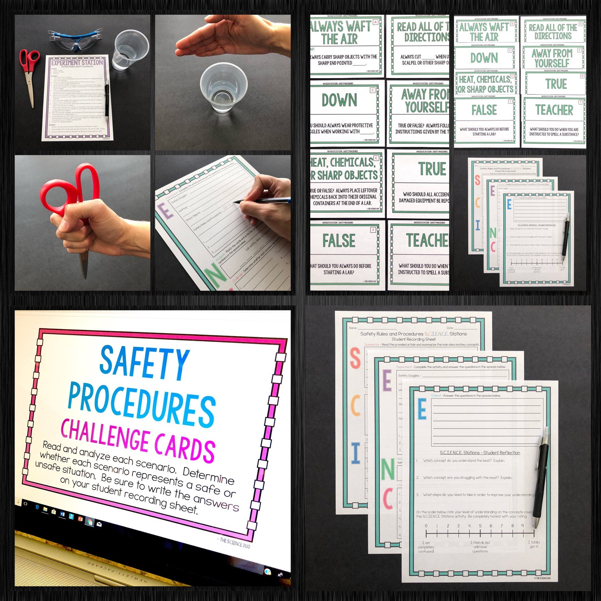 Safety and Scientific Method S.C.I.E.N.C.E. Station Bundle