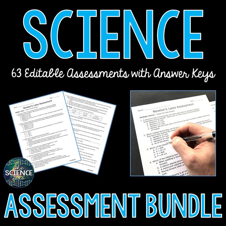Science Assessment Bundle