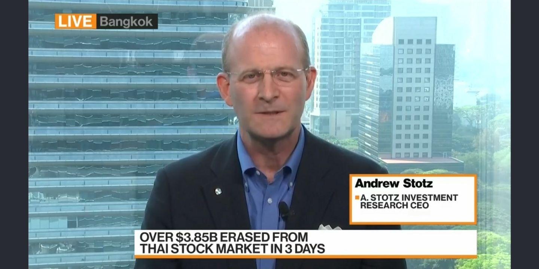Andrew Stotz on Bloomberg TV