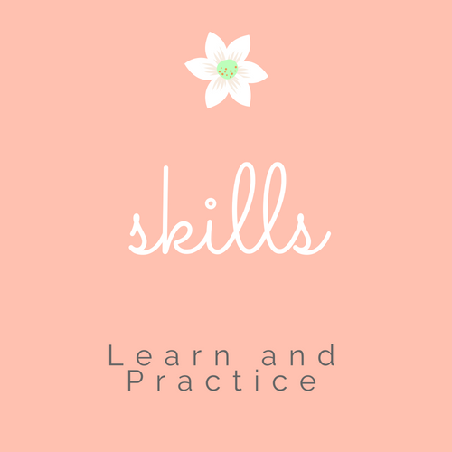 Learn relationship skills. Practice them with homework challenges.