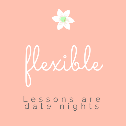 This marriage course is flexible. Lessons are preplanned date nights.
