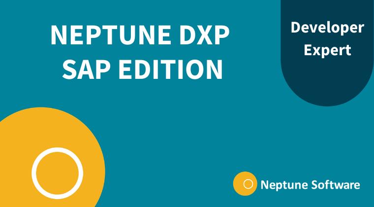 Neptune DXP - SAP Edition Developer Expert