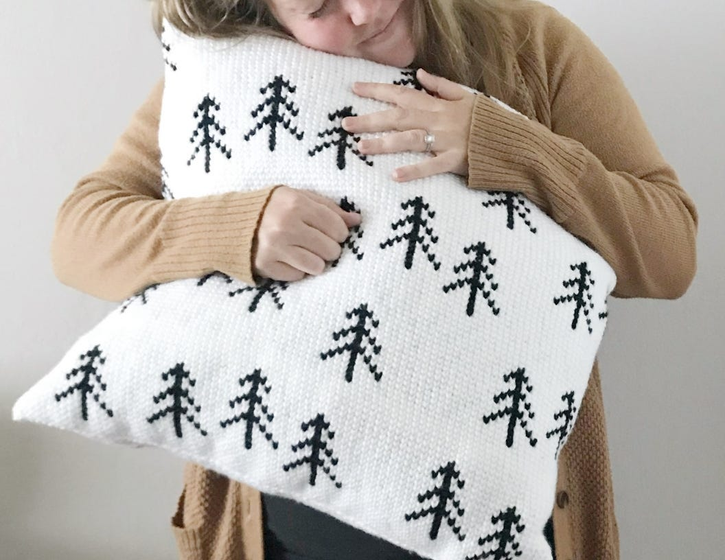 Nordic Tree Pillow