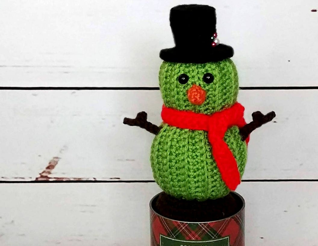 Stanley the Cactus Snowman